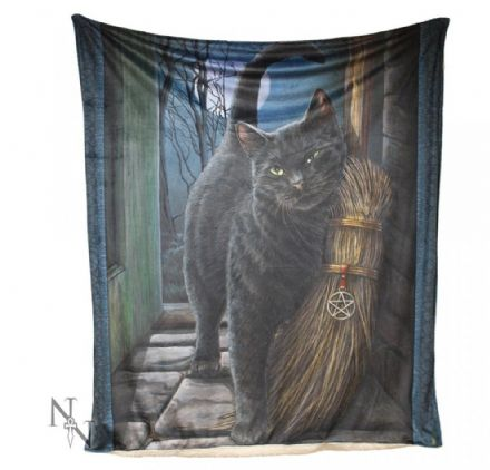 "Nemesis Now Lisa Parker ""A Brush With Magick"" Throw / Blanket"